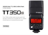 Godox TT350 N za Nikon