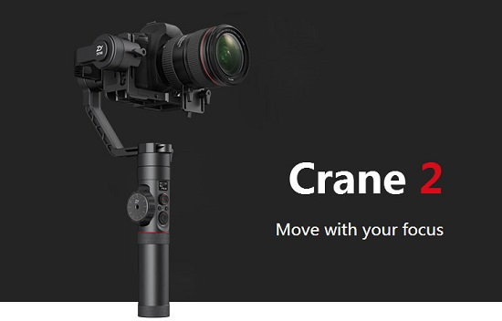 Zhiyun Crane 2 + Follow Focus