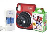 Fujifilm Instax Mini 70 + Instant Film za 20 fotografija + punjač sa punjivim baterijama