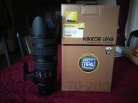 Nikon objektiv AF-S NIKKOR 70-200/2,8G II VR  ED N