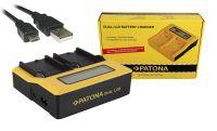 Patona 1809 Dual LCD Battery Charger