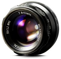 7Artisans 35mm F/1.2 APS-C Manual Fixed Lens (Sony E-mount / Fuji X-mount)
