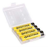 Patona Ni-Mh baterije 4xAAA 900mAh LR3