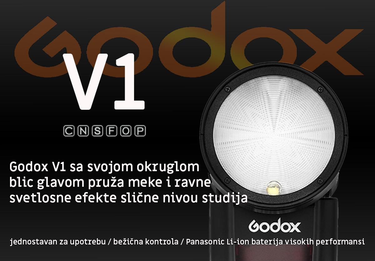 Godox V1 za Canon fotoaparate