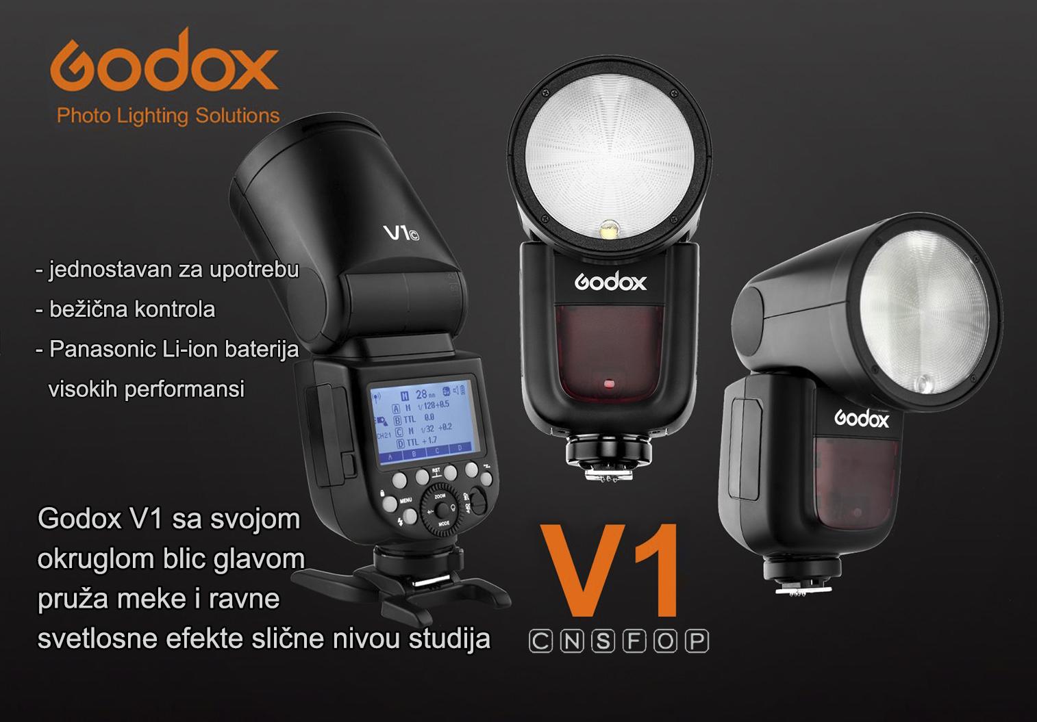 Godox V1 za Canon