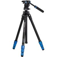 Benro TSL08AS2CSH Slim Video Tripod Kit (Aluminum)