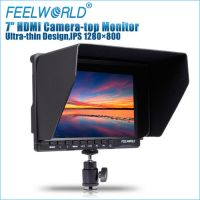 Feelworld  FW279 7'' IPS HDMI On-Camera Monitor with Sunshade and HDMI Lock