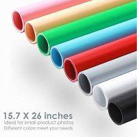 Godox PVC pozdina za fotografisanje dimenzija 68 x 130cm u Zelenoj, Cnoj, , Sivoj i Beloj boji