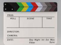 0 Clapperboard klapa za sinhronizaciju audio video