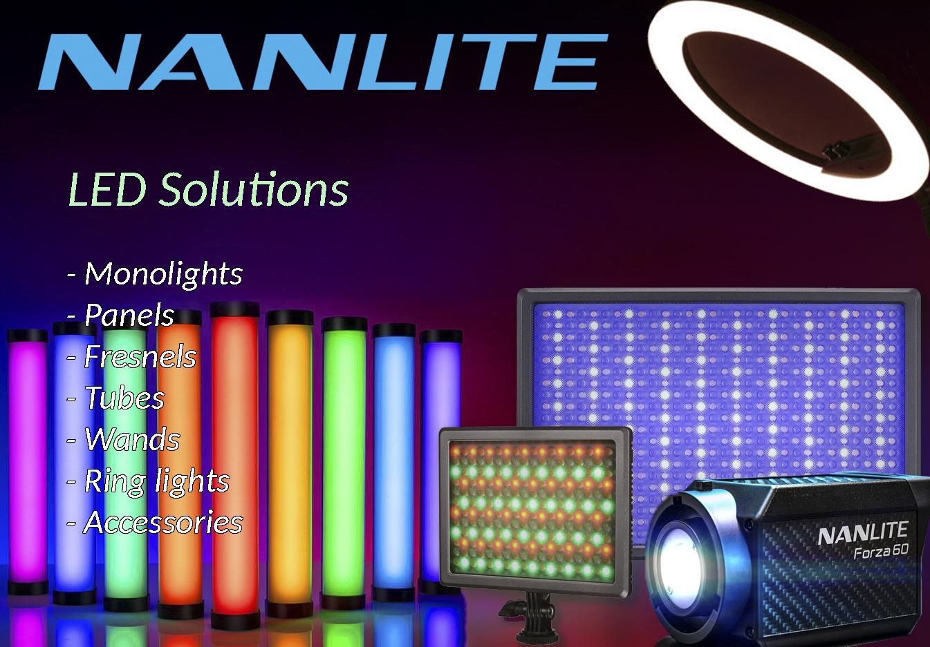 Nanlite LED RASVETA