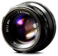 7Artisans 35mm F/1.2 APS-C Manual Fixed Lens (Fuji X-mount)