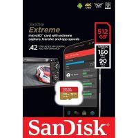 SanDisk Micro SDXC 512GB Extreme 160MB/s (SDSQXA1-512G)