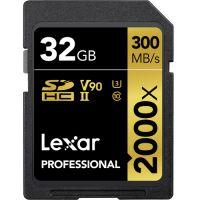 Lexar 32GB Professional 2000x UHS-II SDHC (LSD2000032G)