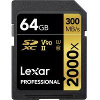 Lexar 64GB Professional 2000x UHS-II SDXC (LSD2000064G)